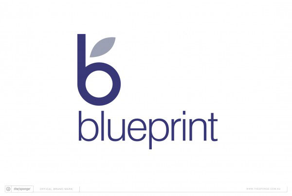 The Sponge Branding: Blueprint Brand Mark