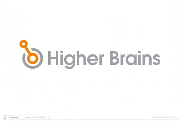 The Sponge Branding Higher Brains Brand Mark