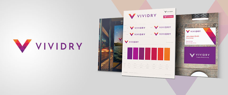 Vividry Brand Design by The Sponge Branding Sydney